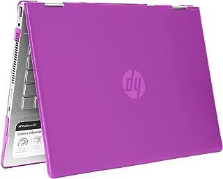 "mCover - Carcasa rígida para HP Pavilion X360 14-CDxxxx / 14-DDxxxx Series Convertible 2 en 1 de 14"", Púrpura"