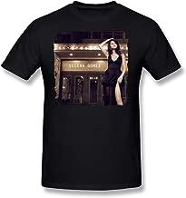 SALA Men's Selena Gomez Revival 2015 Poster T-Shirts Black