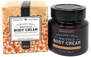 Beekman Honey & Orange Blossom Whipped Body Cream 8 oz.