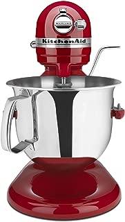 KitchenAid Professional 6000 HD KSM6573CER Stand Mixer, 6 Quart, Empire Red