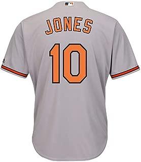 Adam Jones Baltimore Orioles Gray Youth Cool Base Road Replica Jersey