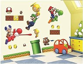 Muurstickers Super Mario Behang Stickers Mario Super Mario Muurstickers Muurstickers Poster Stickers DIY Stickers45*60 cm