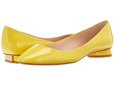 Kate Spade New York Fallyn (Vibrant Canary Patent) Women
