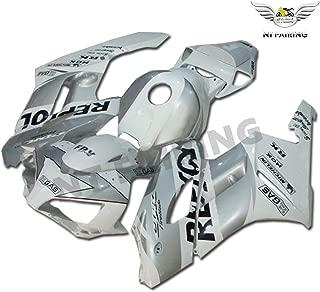 NT FAIRING Silver Repsol Fairing Fit for HONDA 2004 2005 CBR1000RR CBR 1000RR New Injection Mold ABS Plastics Bodywork Body Kit Bodyframe Body Work 04 05