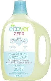 Ecover Zero 2x Laundry Detergent Fragrance Free, 93 fl oz