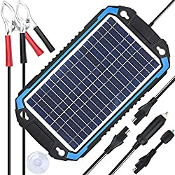 SUNER POWER 12V Solar Battery Charger