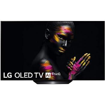 Téléviseur OLED Ultra HD 4K 139 cm LG OLED55B9 - TV OLED 4K 55 pouces - TV connecté / Smart TV - Netflix - Tuner TNT terrestre / satellite - Enregistrement PVR (sur USB) - Prise casque - Son 40 W