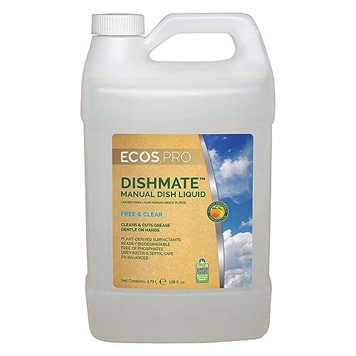 Liquid Dish Detergent, 1 gal., Unscented