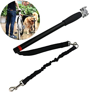 Sunnyglade Hands Free Bicycle Dog Exerciser Leash/Dog Bicycle Exerciser Leash for Exercising/Training/Jogging/Cycling/Outdoor Safe with Pets