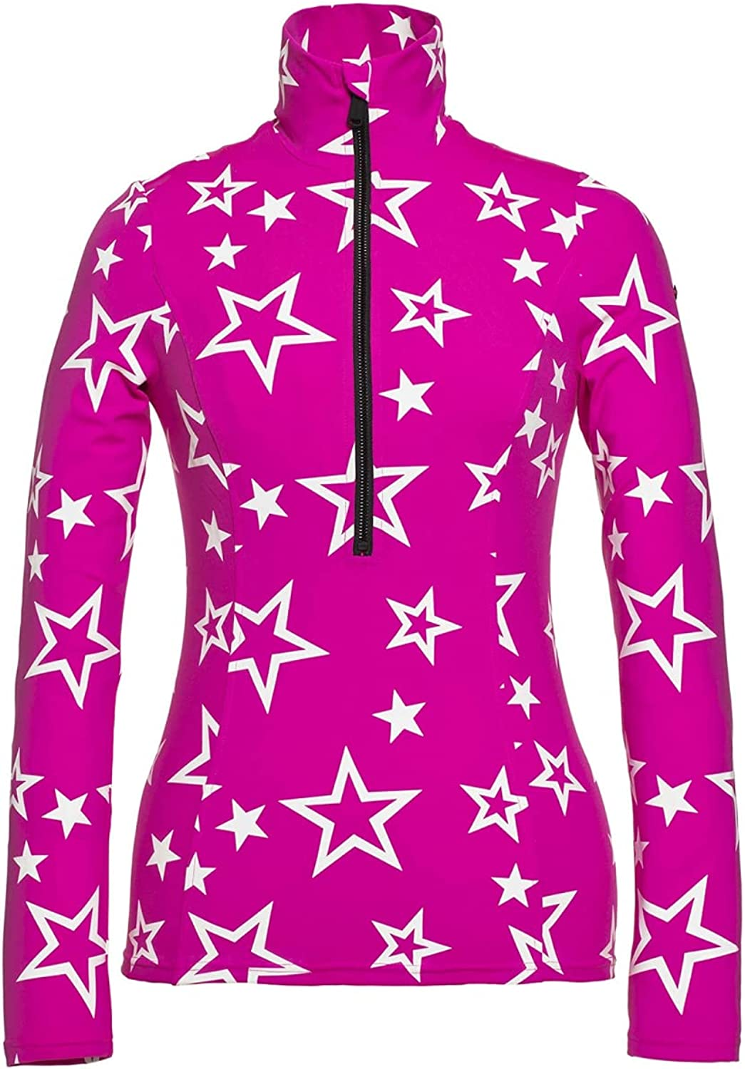 GOLDBERGH Clarisse Pully 1 2-Zip Womens Very popular Mid-Layer Same day shipping Pink Medium