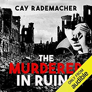 The Murderer in Ruins audiobook cover art