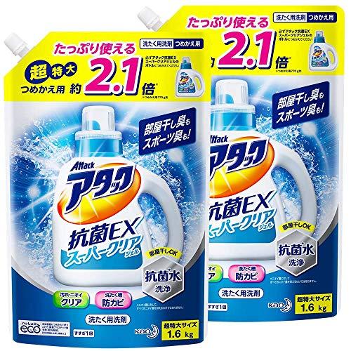 Attack Antibacterial EX Super-Clear Gel Laundry Detergent
