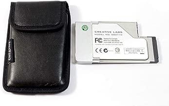 Creative ExpressCard Sound Blaster X-Fi Xtreme Audio Notebook-70SB071000000