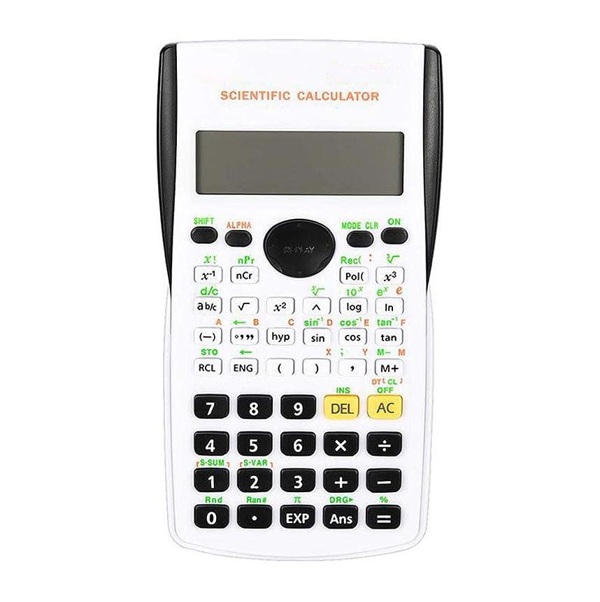 スカープ洪水収入関数電卓電卓 関数電卓 フル機能 関数電卓 デュアルパワー 学生機能 コンピュータ機能