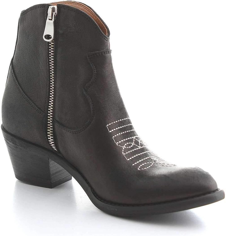 LEQARANT Kvinnors Kvinnors Kvinnors 80 -41BLAKLEQARANT svart läder Ankle stövlar  få det senaste