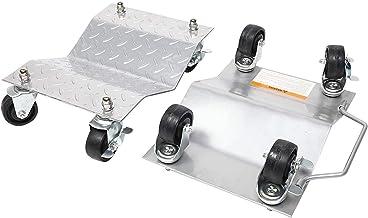 Zwenkwielen, Caster Wheels Set van 4 Casters 4 stks Auto Wheel Set met 3-inch Swiveling Casters Tire Auto Moving Solid Dia...