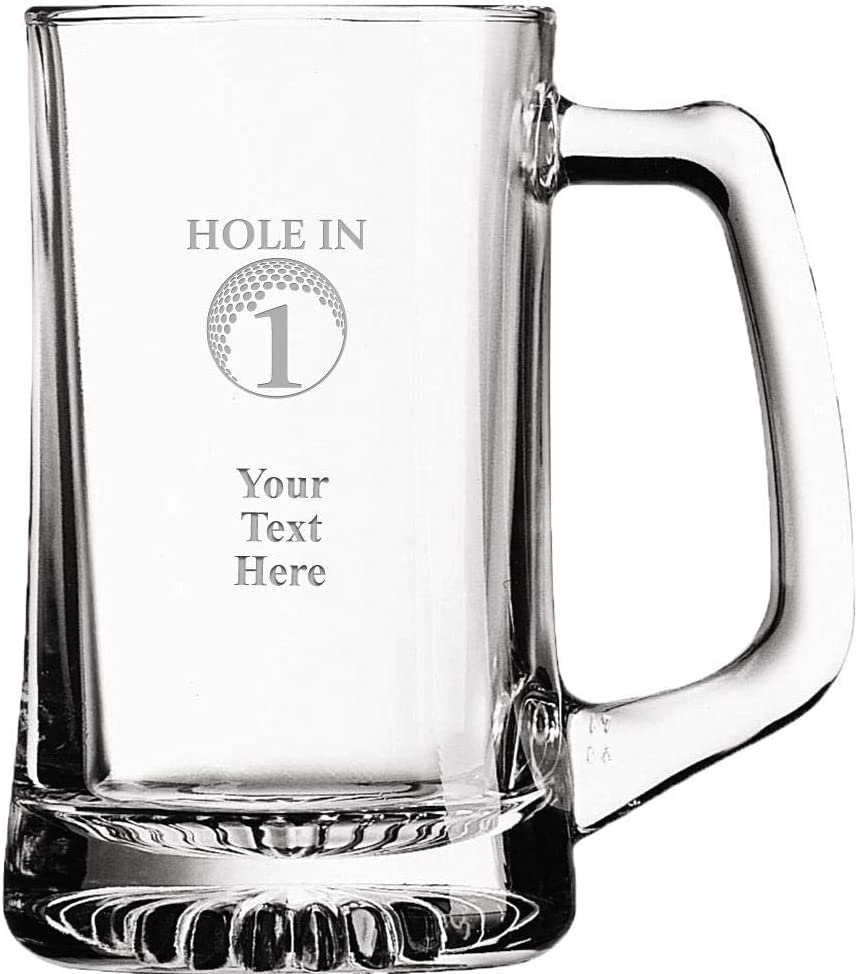 Custom Hole In Challenge 2021 new the lowest price of Japan ☆ One Beer Award 14 Glass oz Personalized