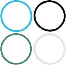 Pack of 4 Silicone Sealing Rings for Instant Pot 5 & 6 Quart - Fits IP-DUO60, IP-LUX60, IP-DUO50, IP-LUX50, Smart-60, IP-C...