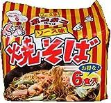 ポンポコ焼そばソース味 89gX6食