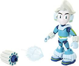 Mega Man Fully Charged – Ice Man Articulated Action Figure with Ice Blast and Ice Man Buster Accessory (to swap onto The Mega Man Figure)! Based on The New Show!