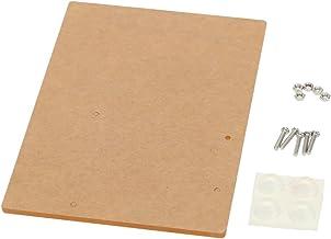 Romacci Placa base acrílica da plataforma experimental compatível com a fixação da placa Arduino UNO R3 11,7 cm * 8,1 cm