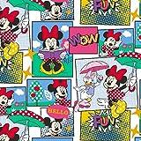 Loopomio Jersey Stoffe Disney Micky Maus Minnie Daisy bunt