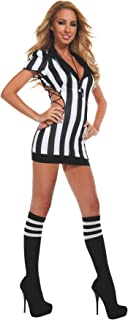 Starline Women's Sexy Cut-Out Referee Costume Set with Whistle