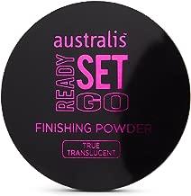 Australis Ready Set Go! Translucent Setting Finishing Powder Cruelty Free Vegan Friendly - Ignite