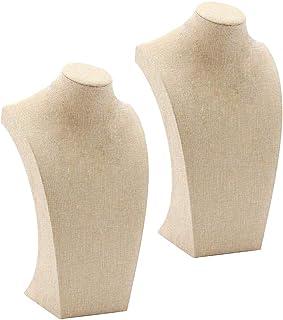 42 cm G/én/érique Mannequin Bijoux Buste D/écoratif pr/ésentoir /à Bijoux pour Colliers.