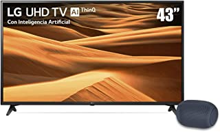 "TV LG 43"" 4K UHD Smart Tv LED 43UM7100PUA más Bocina portátil XBOOM Go PL2"