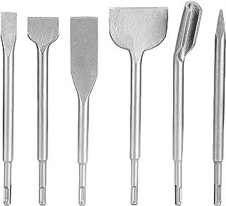 Sponsored Ad – Drill Bit and Chisel Set, 6pcs Draper SDS Chisel Bit Set Rotary Hammer SDS Plus Drill Chisel Set Drilling T...