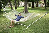Hangit Cotton Rope Hammock (Natural Off White, 335 cm)
