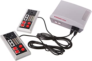 Fucung Built-in 600 8 Bit Games Support HDMI Output Retro Video Game Console HD Out Classic TV Game Player with 4 Button Gamepad
