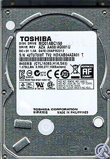 Toshiba MQ01ABC150 interne harde schijf (6,4 cm (2,5 inch), 5400 rpm, SATA)