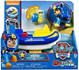 Paw Patrol Sea Patrol – Chase – Figurine, Ami Marin et Véhicule de la Pat Patrouille