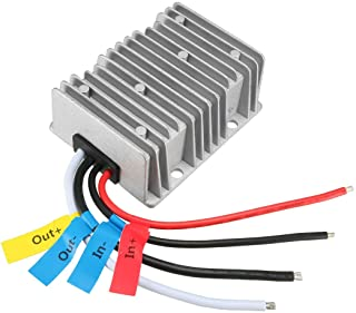 uxcell New Big-Size Voltage Converter Regulator DC/DC DC 24V to DC 12V 40A 480W Buck Transformer Waterproof