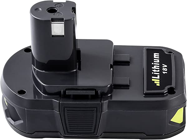 Upgrade Fhybat 3 0Ah 18V Replacement Battery For Ryobi 18V Lithium Battery For P102 P103 P104 P105 P107 P108 P109 Ryobi 18 Volt ONE Cordless Tool