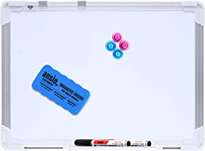 A3 Whiteboard Kit Double Sided with Marker Pen and Eraser - 30 x 42 cm