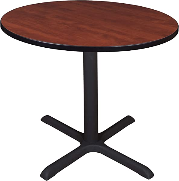 Cain 36 Round Breakroom Table Cherry
