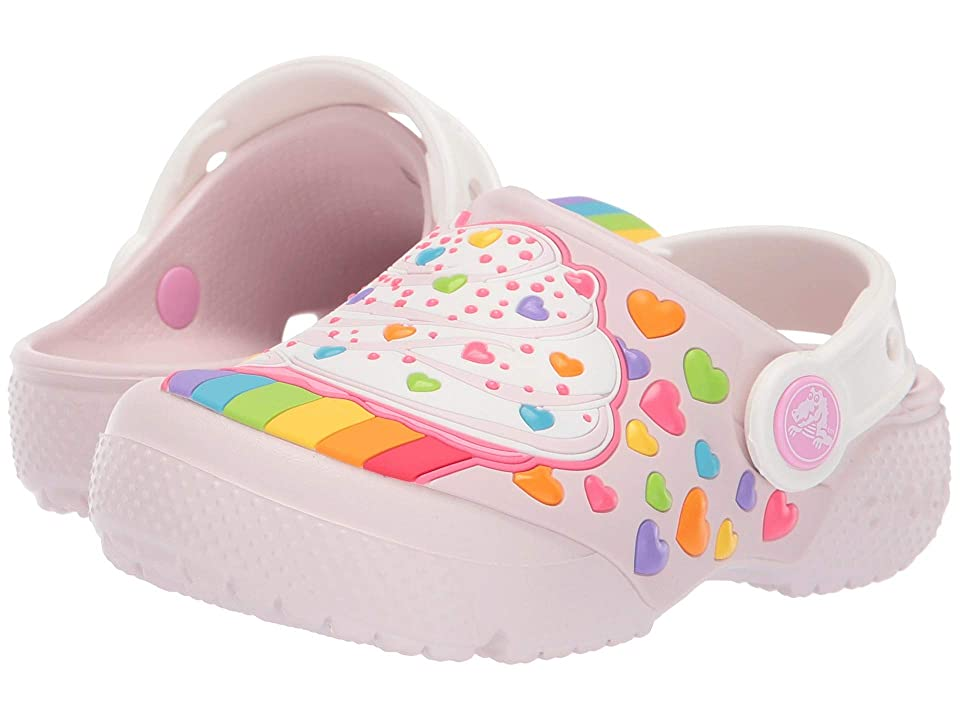 Crocs Kids CrocsFunLab Cupcake Clog (Toddler/Little Kid) (Barely Pink) Kids Shoes