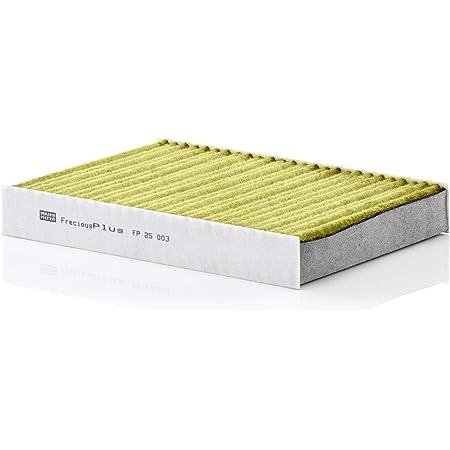 Original Mann Filter Innenraumfilter Fp 25 003 Freciousplus Biofunktionaler Pollenfilter Für Pkw Auto