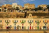 Valletta Historic Port And Colorful Architecture Malta