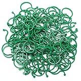 Hysagtek 200 Pz Garden Plant Clips Clip di Supporto per pianta pianta Twisty Anelli per Fi...