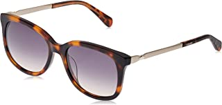 Fossil Women's Fos 2079/s Square Sunglasses, DKHAVANA, 53 mm
