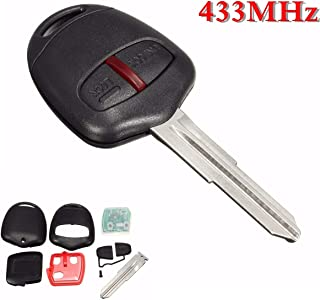 For Mitsubishi L200 Shogun for Triton Pajero Montero 2006 2007 2008 2009 2010 2011+ 2 Buttons Car Remote Key Fob 433MHz ID46