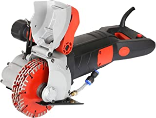 ZXMOTO Wall Groove Cutting Machine 220V 4800W Wall Slotting Machine For Brick Granite Marble Concrete Cutter Notcher Groover, Not Support 110V