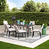Best Sunjoy Patio Furniture Sets - Sunjoy A201014700 Simpson Collection 7-pc. Mid-Century Modern Dining Review