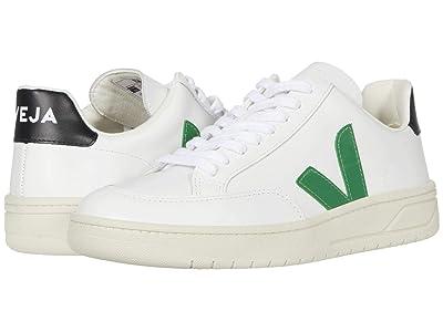 VEJA V-12 (Extra White/Emeraude Black) Athletic Shoes