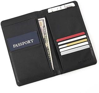 Homyl Plastic Clear Transparent Passport Cover Holder Card Protector Card Storage