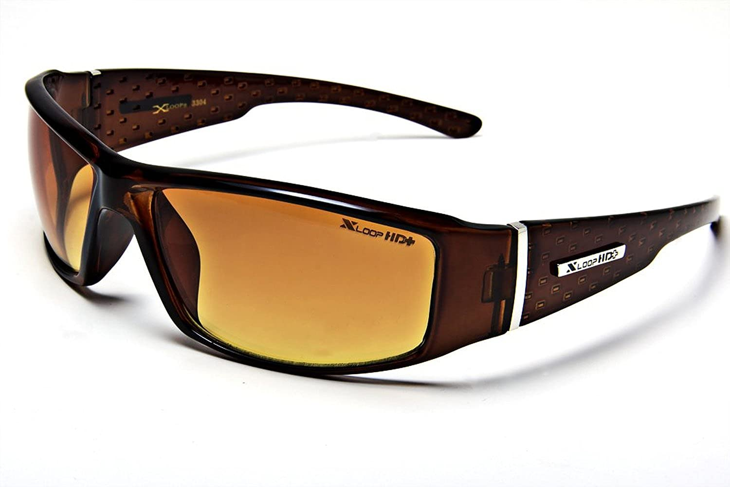 XL12 Style 1 X-Loop Eyewear Reservation BROWN Definition High Ranking TOP17 Outdo Men's HD